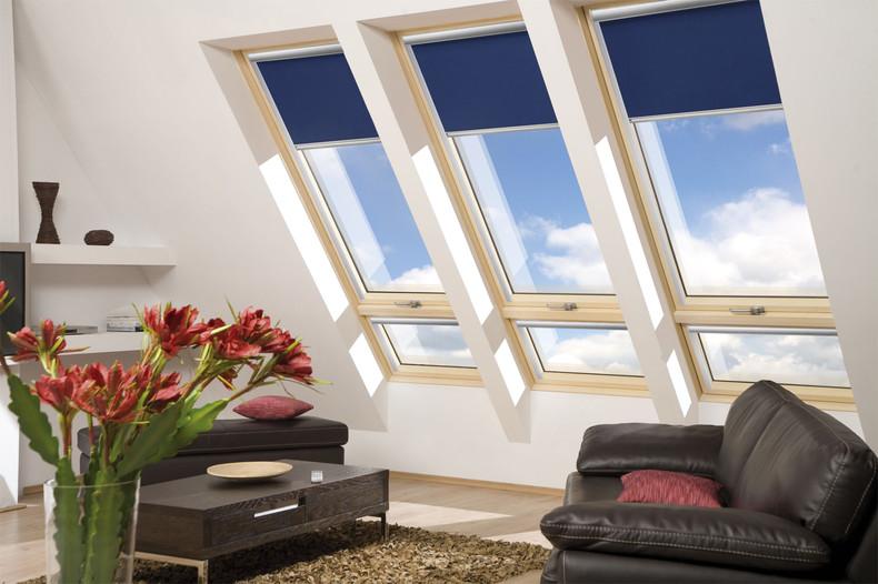 Large roof windows