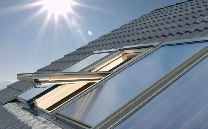 solar roof windows