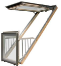 Balcony Style Roof Windows