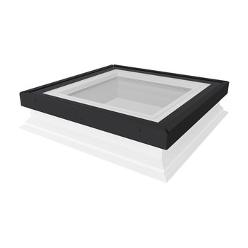 Non-Domed Flat Roof Windows