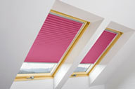 APS Pleated Roof Window Blinds