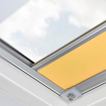 Electric Flat Roof Skylight Blinds - Internal