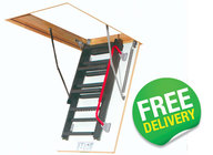 FAKRO Komfort Metal Folding Loft Ladders - LMK