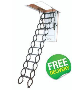 LST Metal Scissor Loft Ladders