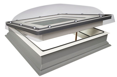 Domed Flat Roof Windows
