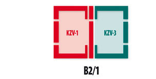 Non-Interlocking - B2/1 ELV