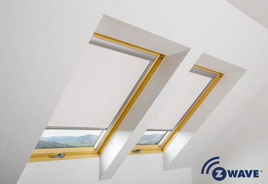 Arf Z Wave Electrical Blackout Roller Blind In 055
