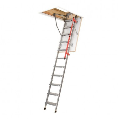 Folding Metal Loft Ladder