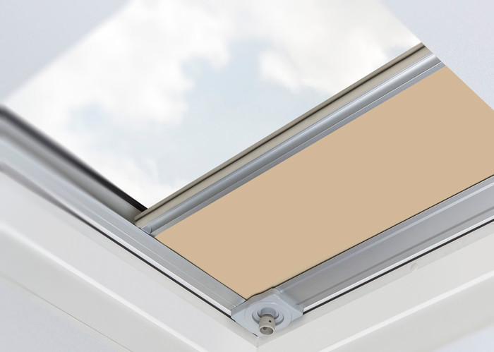 Arf D Z Wave Blackout Roller Blind For Flat Roof Windows