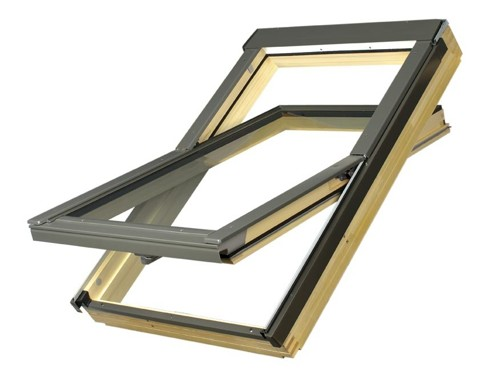Fakro FTS roof window 1