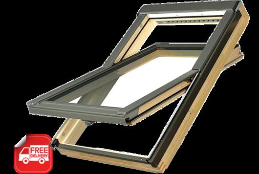 FAKRO centre pivot roof window