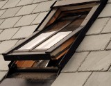 UPVC Conservation Centre Pivot Roof Window