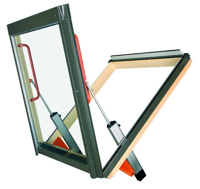 Bottom Hung Ventilation Window