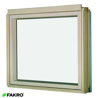 Fixed Shut L-Shaped Combination Window