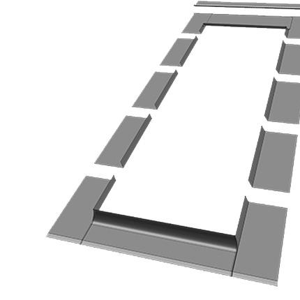 Non-Interlocking Slate Flashing Kit - ELV