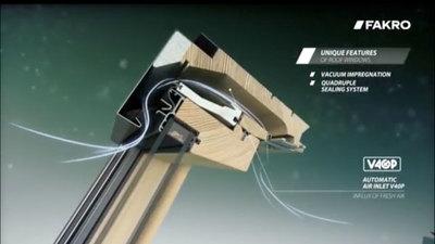 Roof Window Ventilation - V40P - Fakro