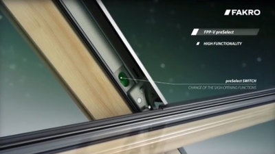 preSelect Roof Window Features